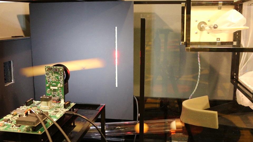 Fig. 7: Vision Chip Demo System